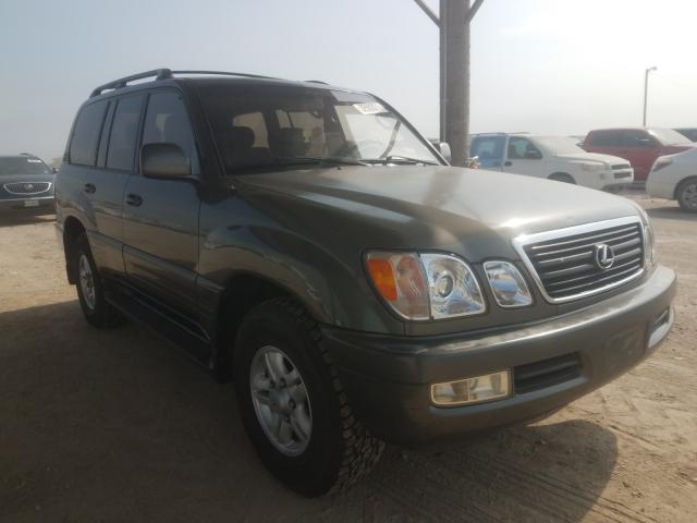 Salvage cars for sale at Temple, TX auction: 1998 Lexus LX 470