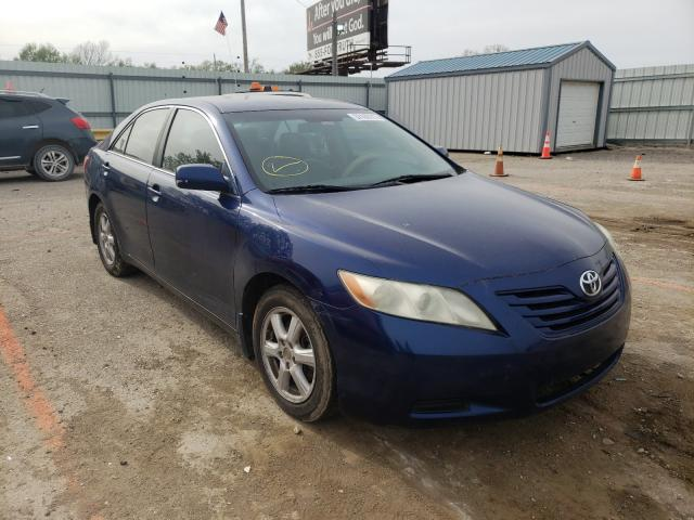 Salvage cars for sale from Copart Wichita, KS: 2007 Toyota Camry CE