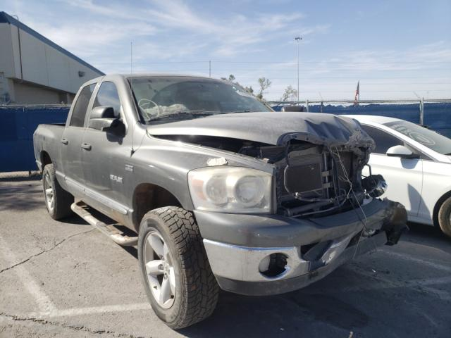 Salvage cars for sale from Copart Anthony, TX: 2008 Dodge RAM 1500 S
