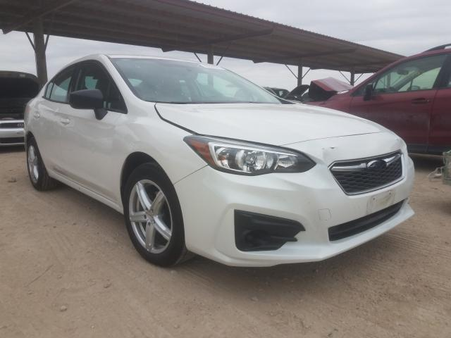 Salvage cars for sale from Copart Temple, TX: 2017 Subaru Impreza