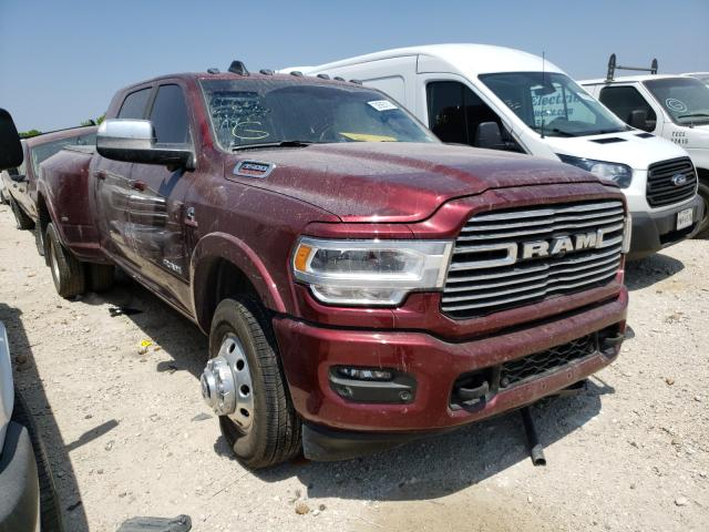 Salvage cars for sale from Copart San Antonio, TX: 2021 Dodge 3500 Laram