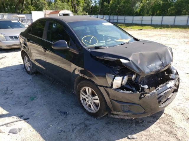 Salvage cars for sale from Copart Ocala, FL: 2013 Chevrolet Sonic LT