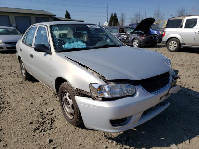 Salvage cars for sale from Copart Eugene, OR: 2002 Toyota Corolla CE