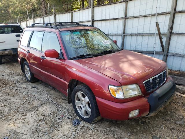Subaru salvage cars for sale: 2001 Subaru Forester S