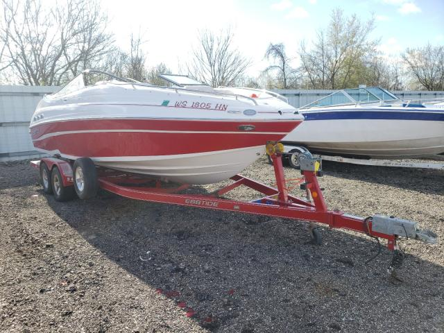 Salvage cars for sale from Copart Cudahy, WI: 2008 Ebbtide Boat With Trailer