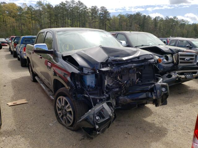 Salvage cars for sale from Copart Sandston, VA: 2020 Toyota Tundra CRE