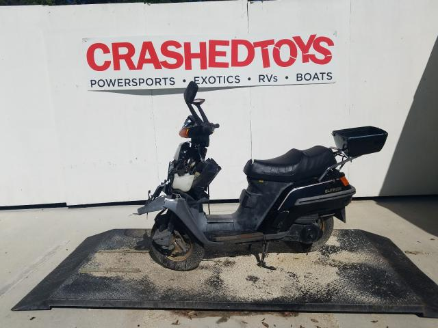 Salvage motorcycles for sale at Ocala, FL auction: 1987 Honda CH250