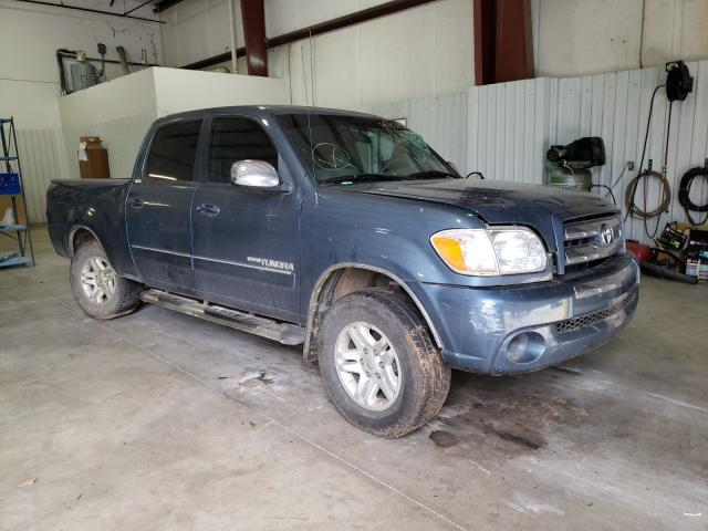Salvage cars for sale from Copart Lufkin, TX: 2006 Toyota Tundra DOU