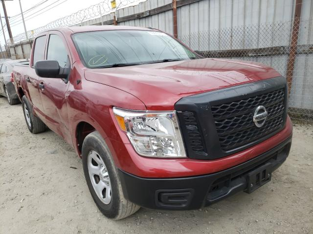 Nissan salvage cars for sale: 2019 Nissan Titan S