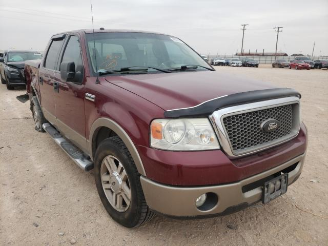 Salvage cars for sale from Copart Andrews, TX: 2006 Ford F150 Super