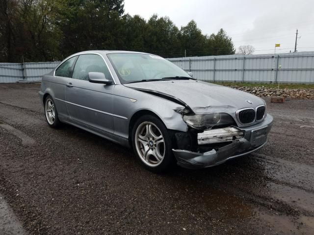 Salvage cars for sale from Copart London, ON: 2004 BMW 330 CI
