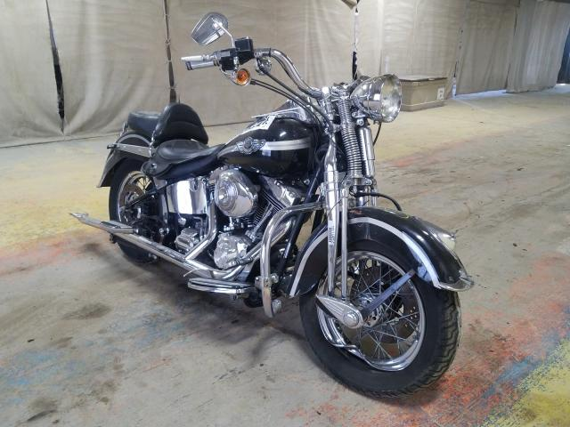 Salvage cars for sale from Copart Indianapolis, IN: 2003 Harley-Davidson Flstsi