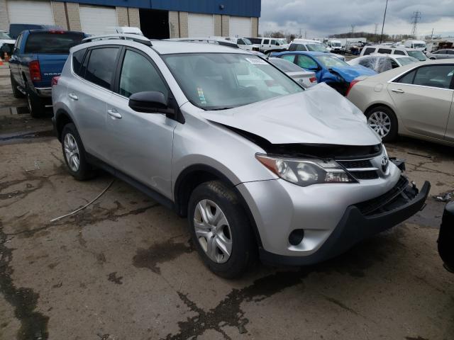Vehiculos salvage en venta de Copart Woodhaven, MI: 2013 Toyota Rav4 LE
