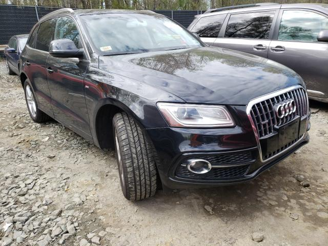 Salvage cars for sale from Copart Waldorf, MD: 2013 Audi Q5 Premium
