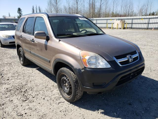 Salvage cars for sale from Copart Arlington, WA: 2003 Honda CR-V EX