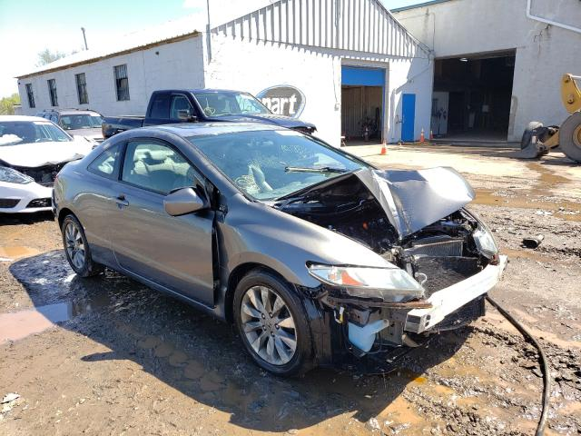 Salvage cars for sale from Copart Hillsborough, NJ: 2009 Honda Civic EXL