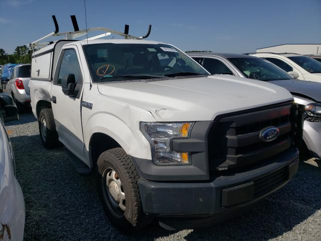 Salvage cars for sale from Copart Lumberton, NC: 2015 Ford F150