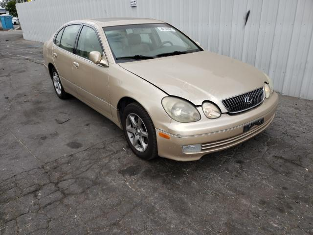 Salvage cars for sale from Copart Colton, CA: 2003 Lexus GS 300