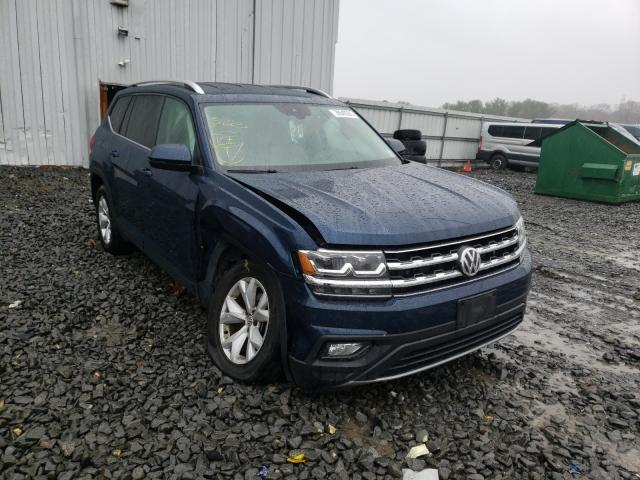 Salvage cars for sale from Copart Windsor, NJ: 2018 Volkswagen Atlas SE
