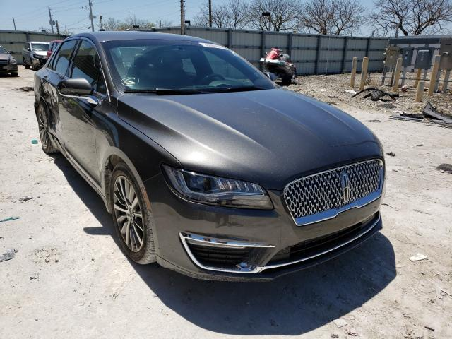 Salvage cars for sale from Copart Homestead, FL: 2018 Lincoln MKZ Premium