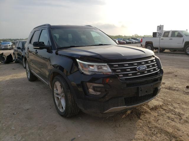 Salvage cars for sale from Copart Temple, TX: 2017 Ford Explorer X
