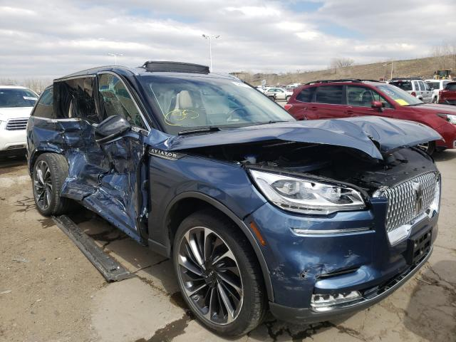 Lincoln salvage cars for sale: 2020 Lincoln Aviator RE