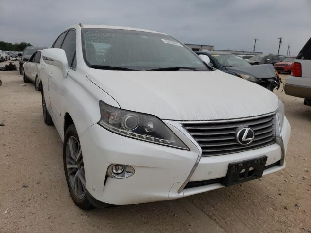 Salvage cars for sale from Copart San Antonio, TX: 2015 Lexus RX 350