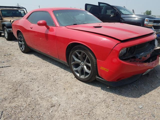 Salvage cars for sale at Mercedes, TX auction: 2014 Dodge Challenger