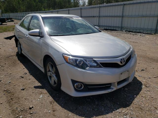 Salvage cars for sale from Copart Charles City, VA: 2012 Toyota Camry Base