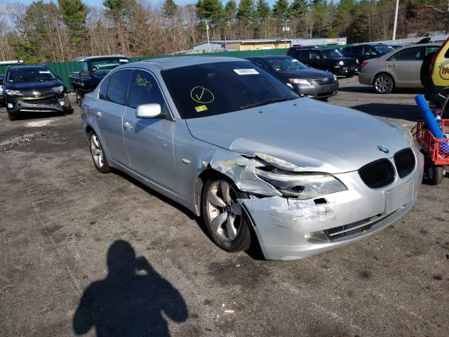 Salvage cars for sale from Copart Exeter, RI: 2008 BMW 528 I