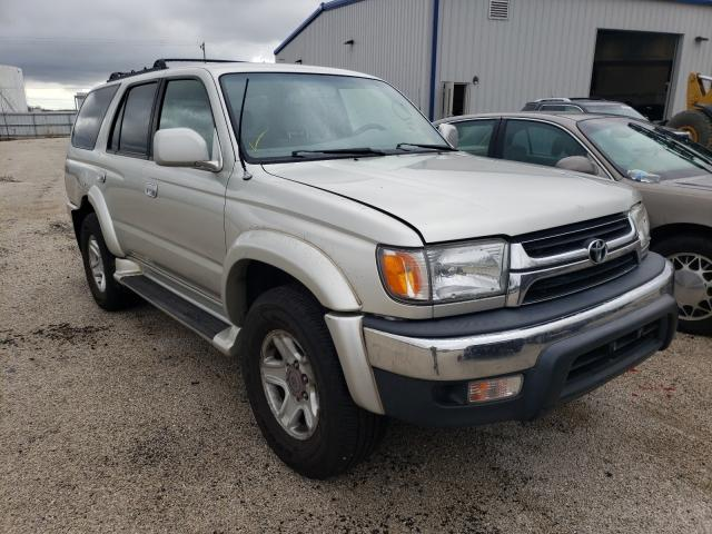 Salvage cars for sale at Milwaukee, WI auction: 2001 Toyota 4runner SR