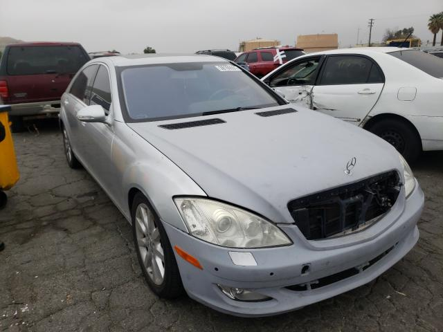 Salvage cars for sale from Copart Colton, CA: 2007 Mercedes-Benz S 550