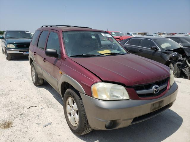 Salvage cars for sale from Copart San Antonio, TX: 2003 Mazda Tribute ES