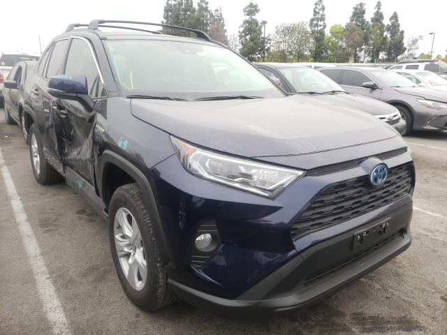 Salvage cars for sale from Copart Rancho Cucamonga, CA: 2021 Toyota Rav4 XLE