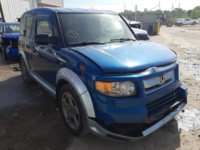 Salvage cars for sale from Copart Montgomery, AL: 2008 Honda Element SC