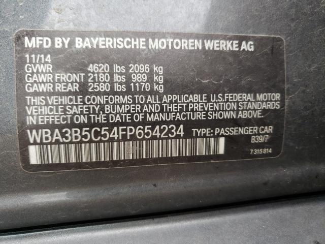 2015 BMW 328 XI SUL WBA3B5C54FP654234