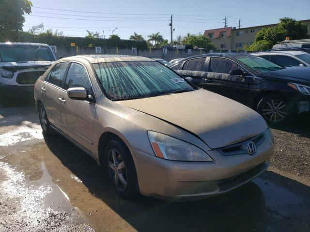 Salvage cars for sale from Copart Opa Locka, FL: 2004 Honda Accord EX