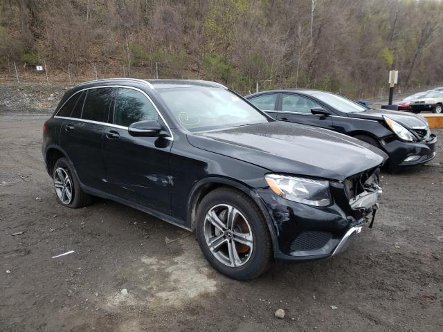 Salvage cars for sale from Copart Marlboro, NY: 2019 Mercedes-Benz GLC 300 4M
