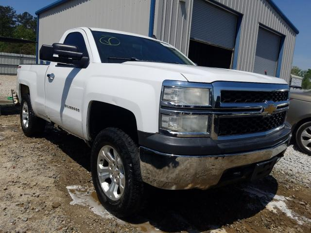 Salvage cars for sale from Copart Ellenwood, GA: 2014 Chevrolet Silverado