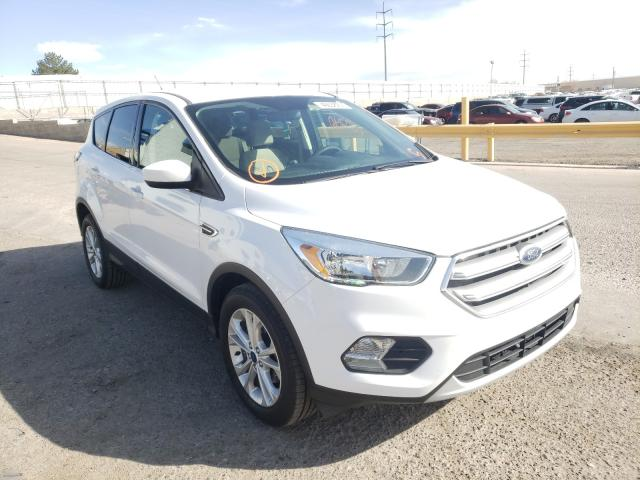 Salvage cars for sale from Copart Albuquerque, NM: 2017 Ford Escape SE