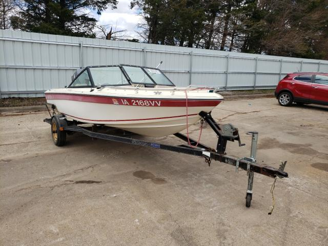 Ebbtide Boat With Trailer salvage cars for sale: 1985 Ebbtide Boat With Trailer