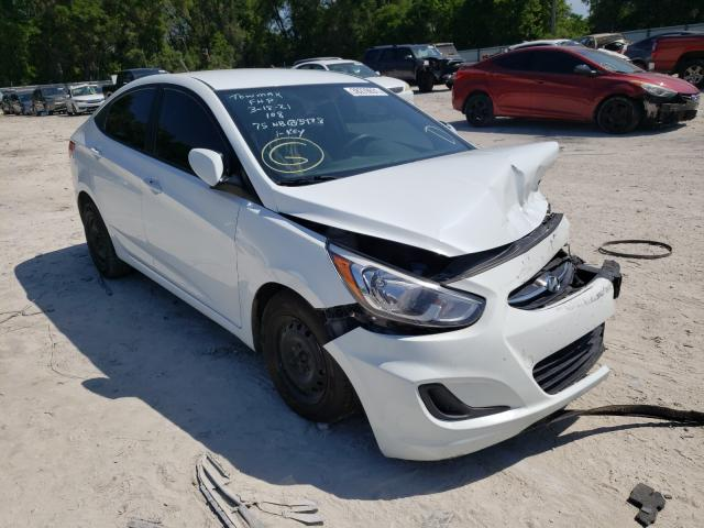 Salvage cars for sale from Copart Ocala, FL: 2016 Hyundai Accent BLU