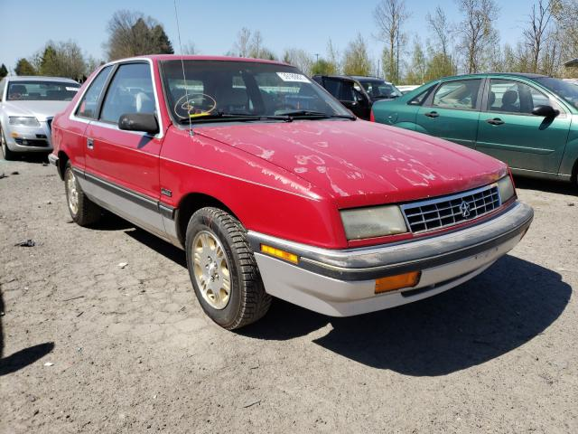 Plymouth salvage cars for sale: 1990 Plymouth Sundance