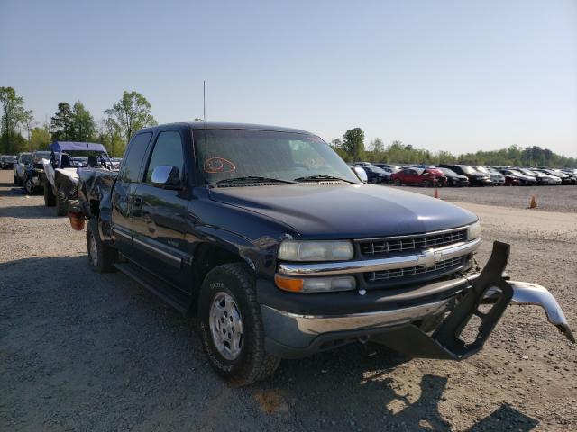 Vehiculos salvage en venta de Copart Lumberton, NC: 2002 Chevrolet Silverado
