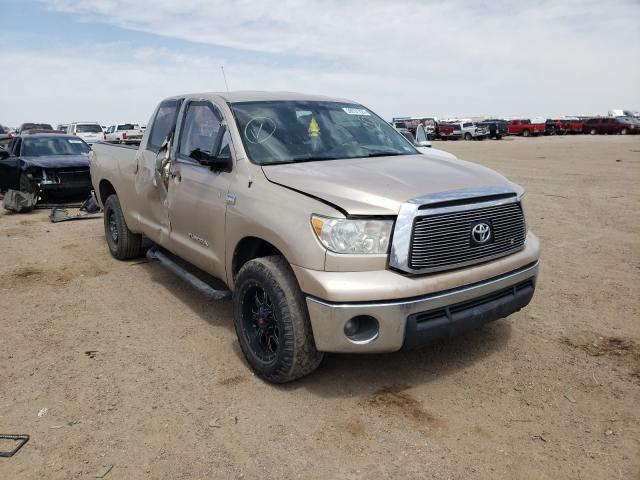 Salvage cars for sale from Copart Amarillo, TX: 2010 Toyota Tundra DOU