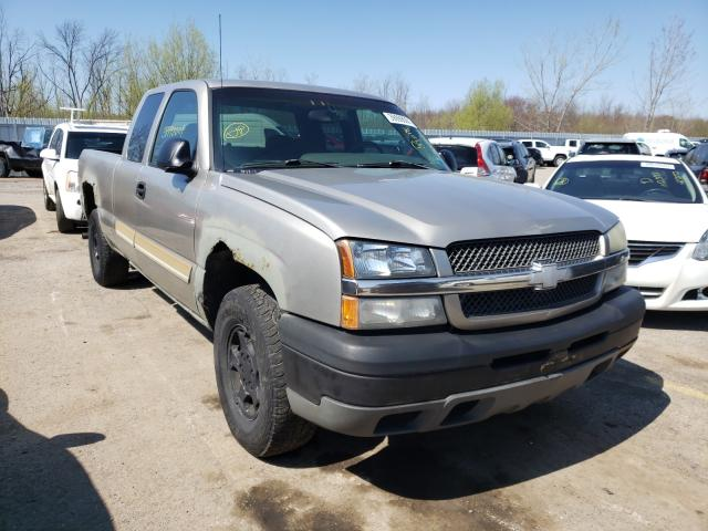 Salvage cars for sale from Copart Angola, NY: 2003 Chevrolet Silverado