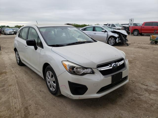Salvage cars for sale from Copart Temple, TX: 2012 Subaru Impreza