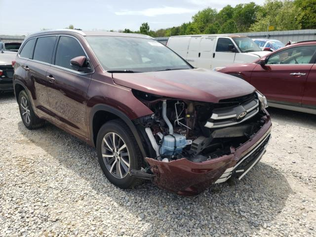 Salvage cars for sale from Copart Prairie Grove, AR: 2018 Toyota Highlander