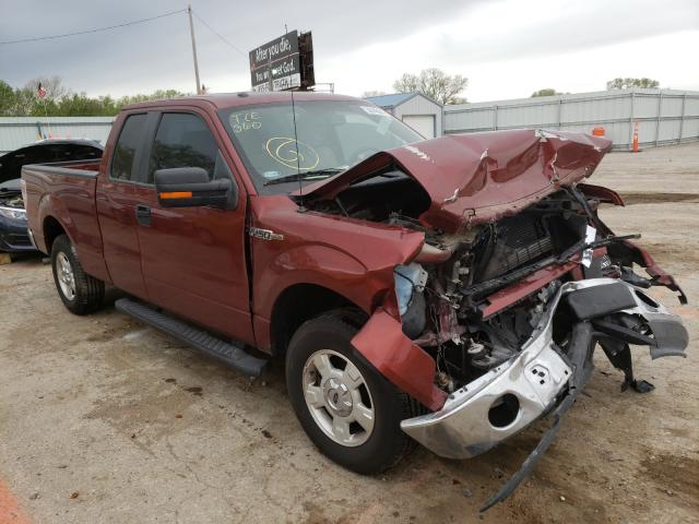 Salvage cars for sale from Copart Wichita, KS: 2014 Ford F150 Super
