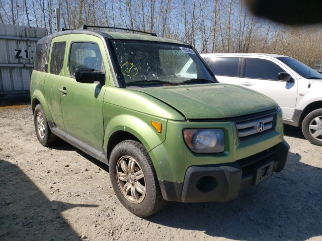 Salvage cars for sale from Copart Arlington, WA: 2008 Honda Element EX